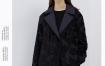 Marisfrolg/玛丝菲尔白鹅绒羽绒服女2020春季新款黑色中长款外套