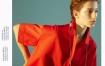 Marisfrolg/玛丝菲尔红色连衣裙女装2020春季新款宽松显瘦衬衫裙