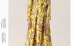 玛丝菲尔新款女装长袖羊毛碎花衬衫花稿上衣海芋花衬衣桑蚕丝