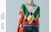 Marisfrolg/玛丝菲尔2020年夏季新款女装薄款拼色宽松针织T恤上衣