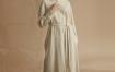 Marisfrolg/玛丝菲尔2020冬季新款衬衫连衣裙中长款羊毛裙子