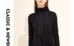 Marisfrolg玛丝菲尔女装2019春季新款专柜同款羊毛针织连衣裙