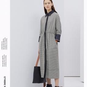 Marisfrolg玛丝菲尔连衣裙女2020春季新款中长款长袖时尚衬衫裙子