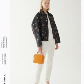 Marisfrolg玛丝菲尔短外套女装2020春季新款宽松时尚绣花气质外套